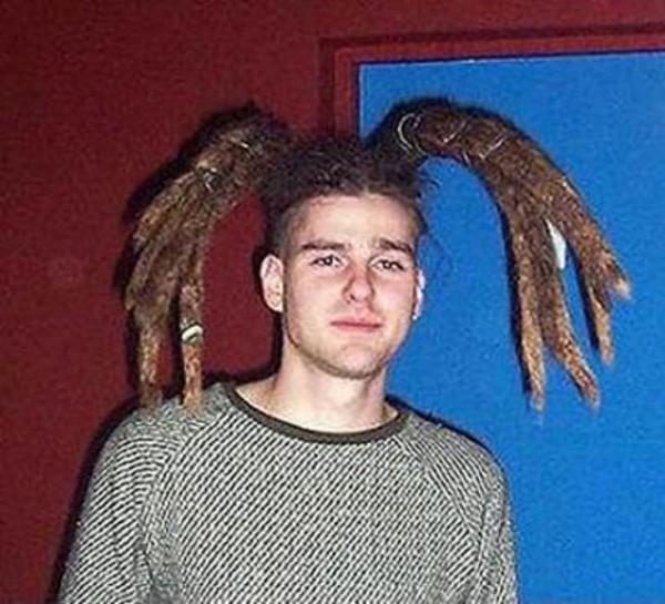 Странные причёски фото